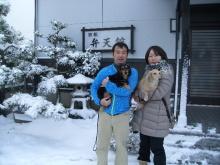 弁天館スタッフのブログ-岡田様 2013.1.2泊